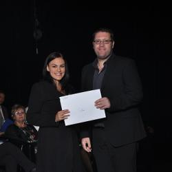 2nd placed first year: Ms D Basson
