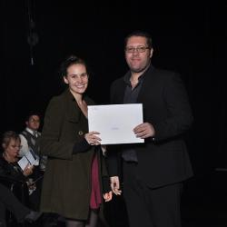 2nd placed second year: Ms L du Plessis